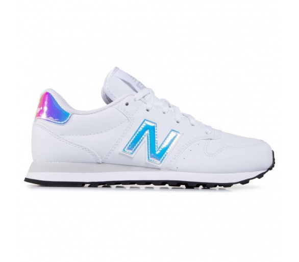 New Balance 500 Donna White/Hologram GW500MF1 Bianco